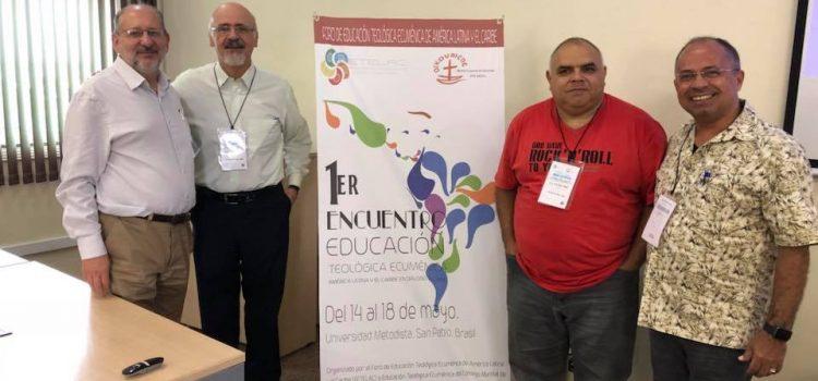 Aste presente no 1º Encontro Educação Teológica Ecumênica América Latina e o Caribe em diálogo global